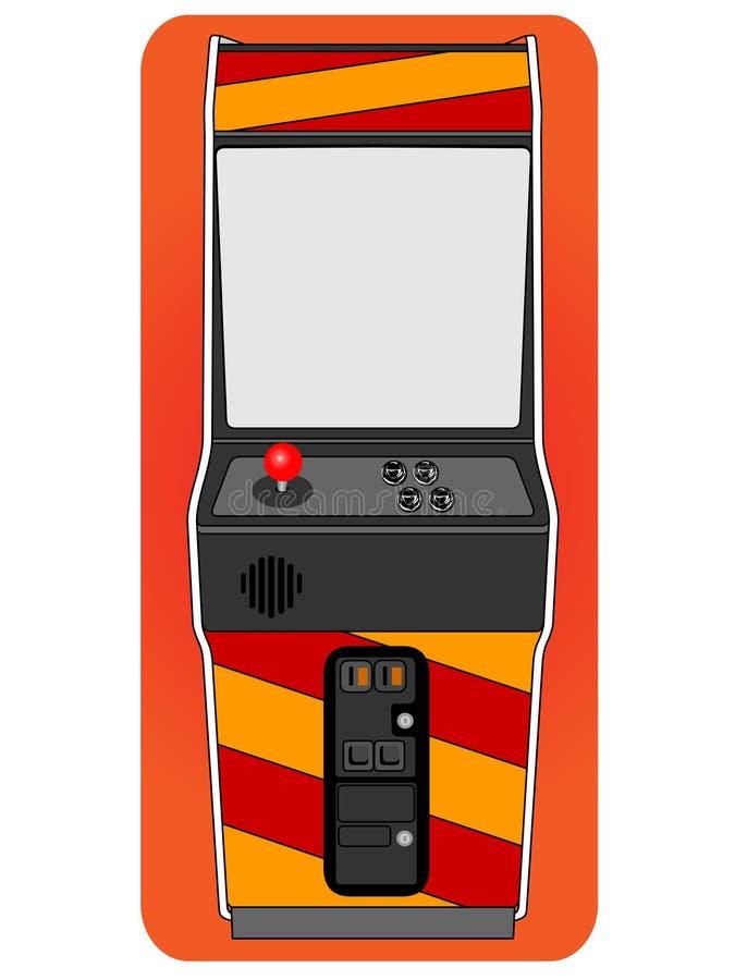 Module classique d'arcade images libres de droits