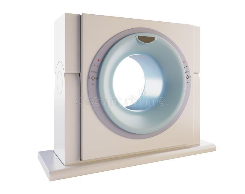 Module de balayage de MRI illustration stock