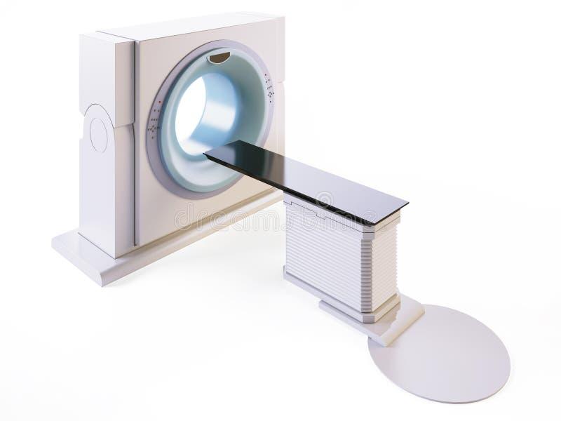 Module de balayage de MRI illustration de vecteur