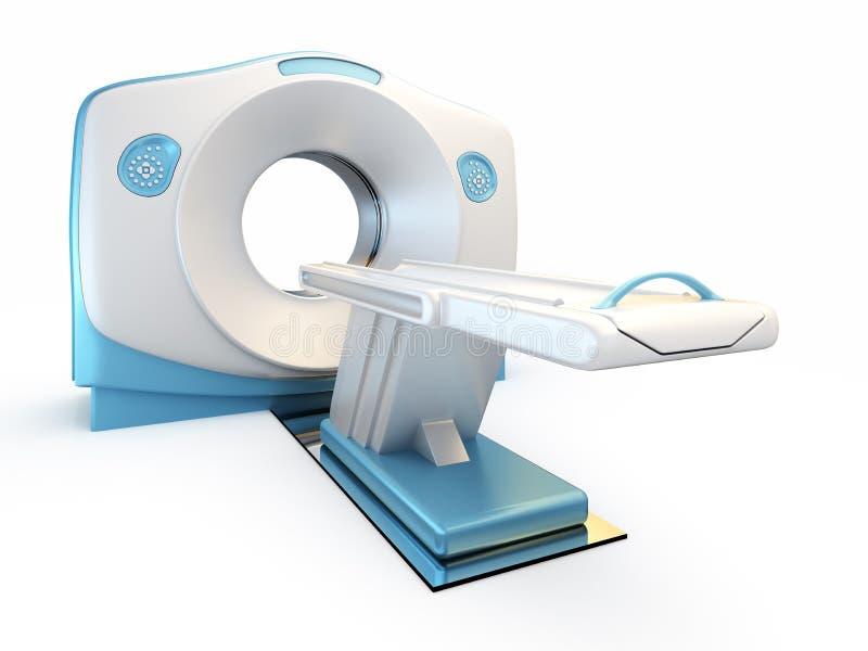 Module de balayage de MRI, d'isolement sur le fond blanc. illustration libre de droits