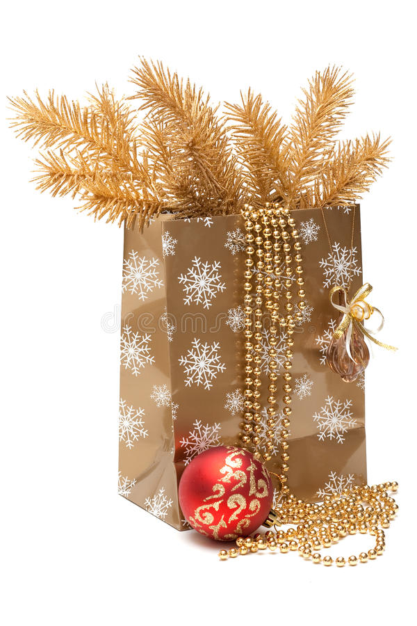 Module de cadeau de Cristmas photo stock