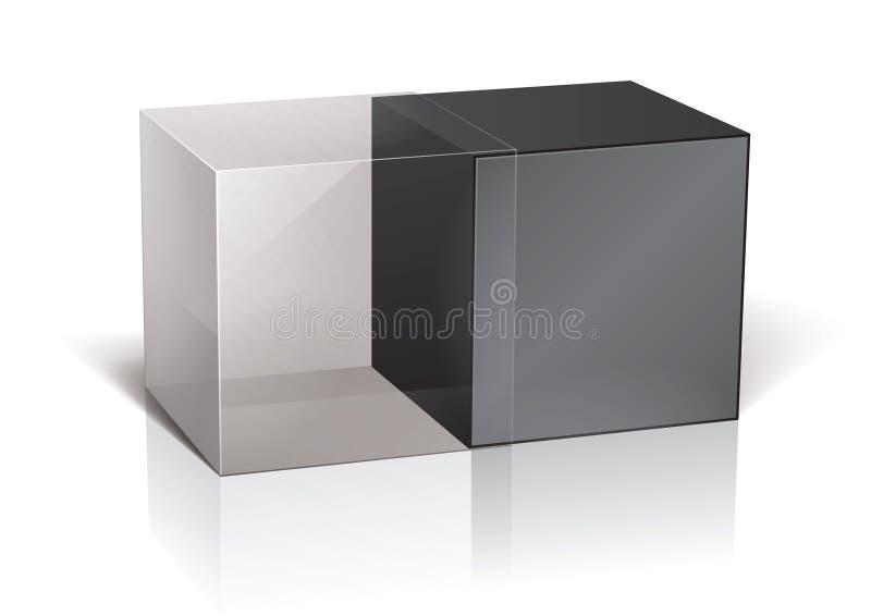 Module de cube illustration libre de droits