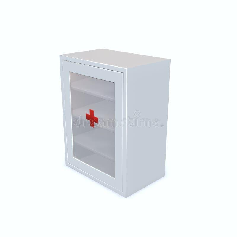 Module de médecine illustration stock