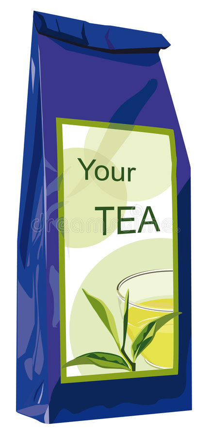 Module de thé d'élite illustration stock