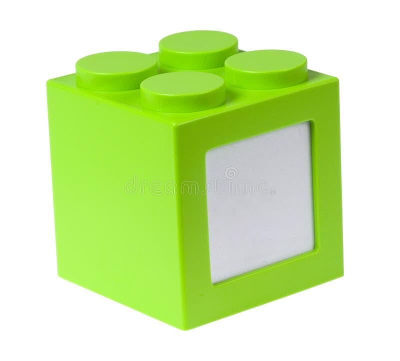 Module vert avec le copyspace image stock