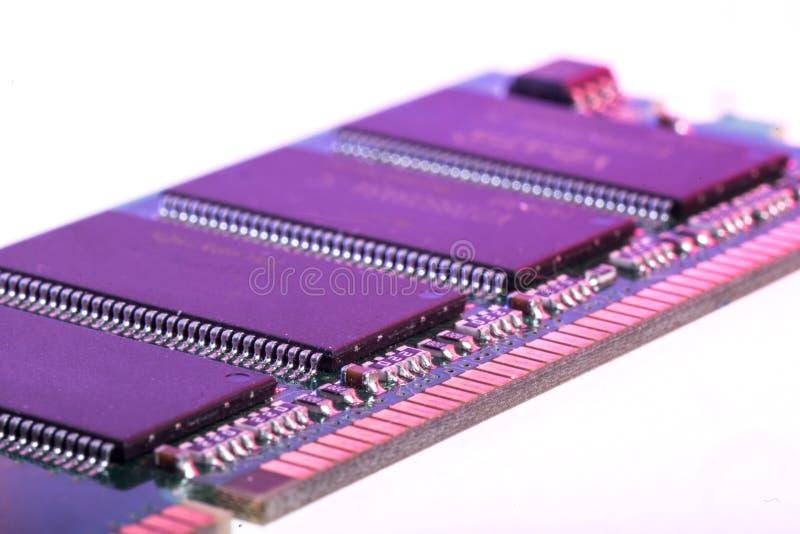 Modulegeheugen RAM royalty-vrije stock fotografie