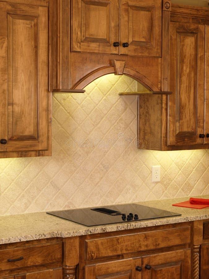 Modules de cuisine de luxe d 39 rable de maison mod le 3 image stock image du appareil for Modele de maison de luxe