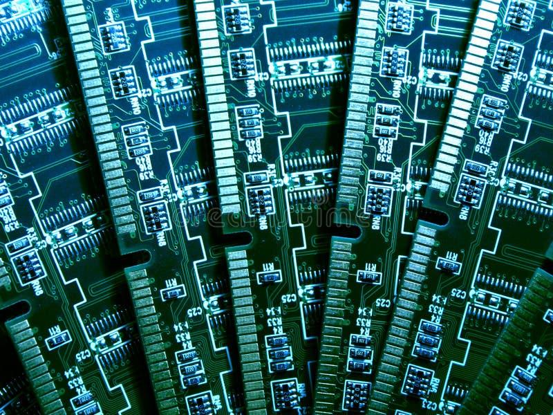 Moduli di memoria di calcolatore VI immagine stock libera da diritti