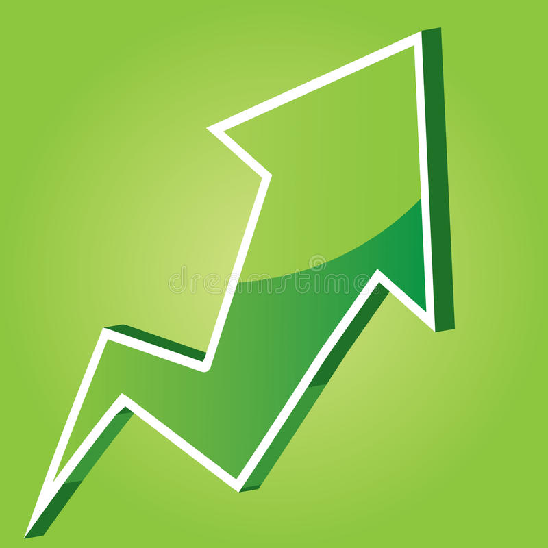 Modulo di vettore delle frecce illustrazione di stock