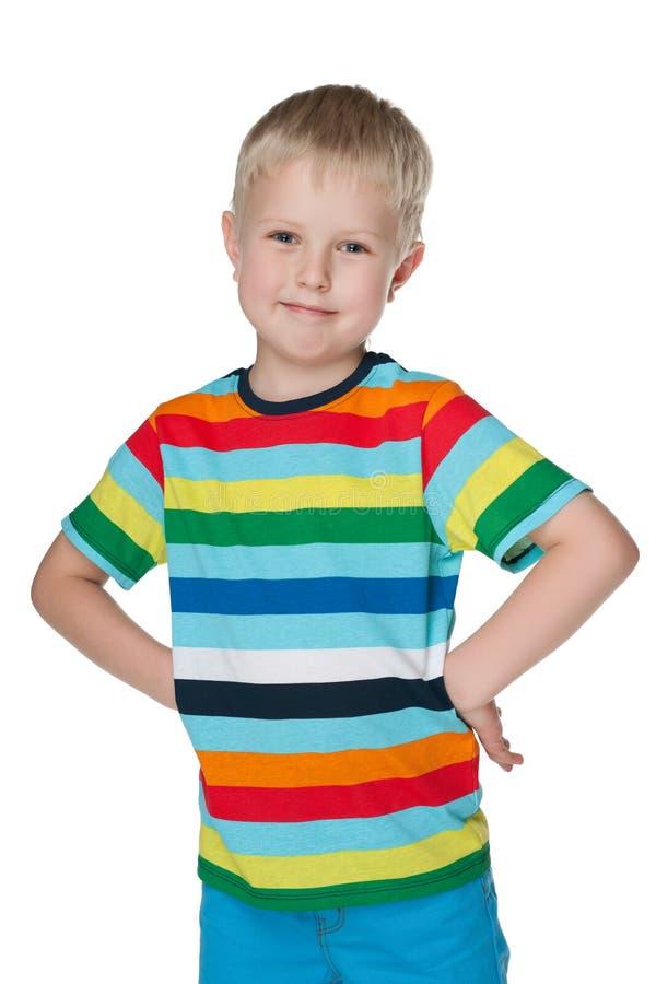 Download Mody śliczna chłopiec zdjęcie stock. Obraz złożonej z joyce - 41951336