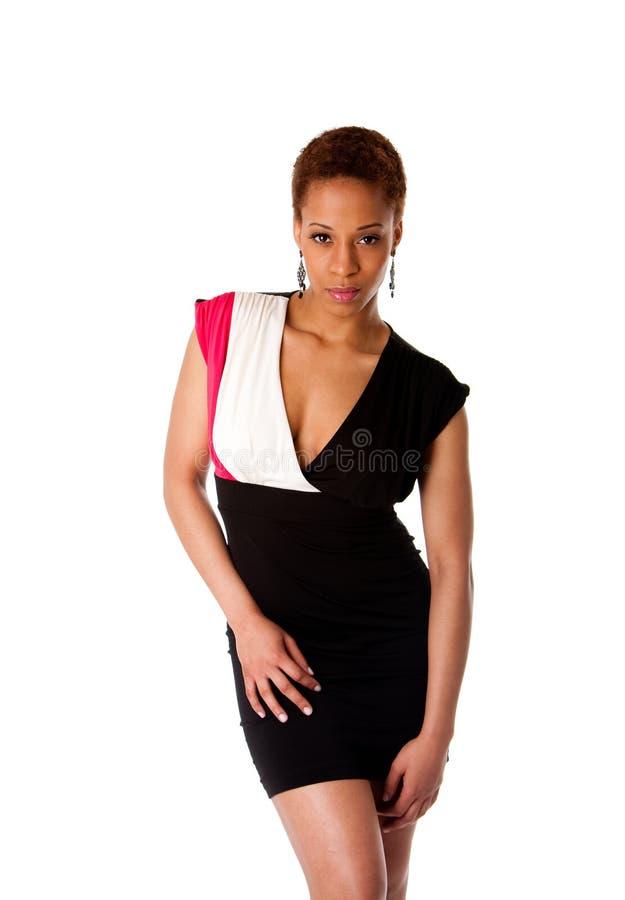 mody afrykańska piękna biznesowa kobieta obraz royalty free