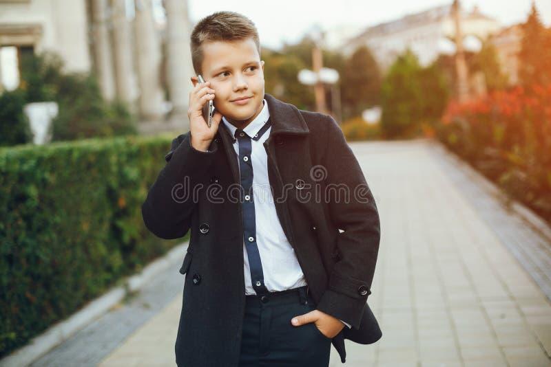 Mody chłopiec zdjęcie stock