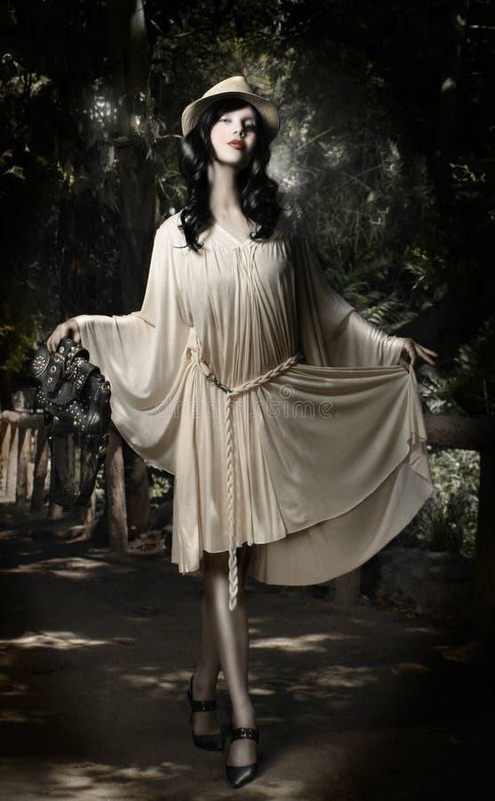 mody czarodziejska bajka zdjęcia stock