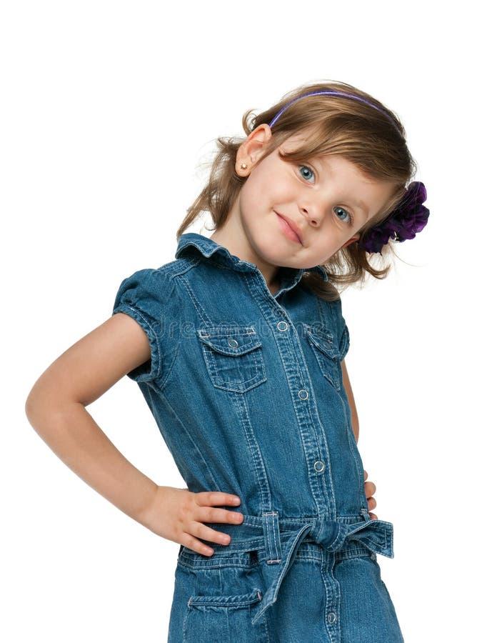 mody dziewczyny mały ja target4492_0_ zdjęcia royalty free