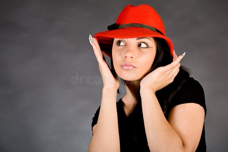 mody dziewczyny portret obrazy stock