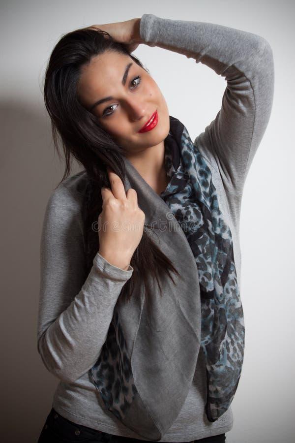 Mody fotografia młoda wspaniała kobieta tła dziewczyny target321_0_ woda Studio ph fotografia royalty free