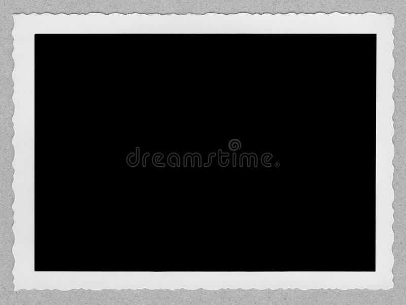 mody granic starej fotografii zdjęcia stock