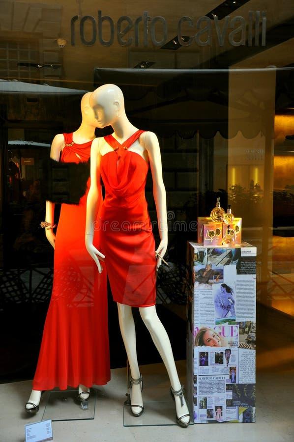mody Italy sklep zdjęcie stock