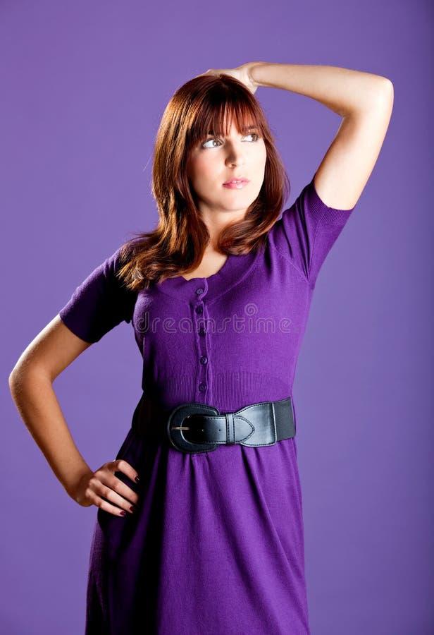 Download Mody kobieta zdjęcie stock. Obraz złożonej z uroczy, kolorowy - 13342906