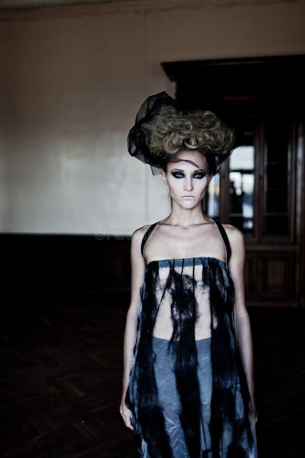 Mody kobieta obrazy royalty free