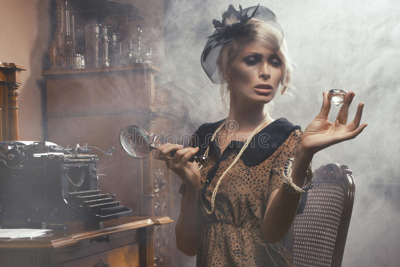 Mody kobieta zdjęcia stock
