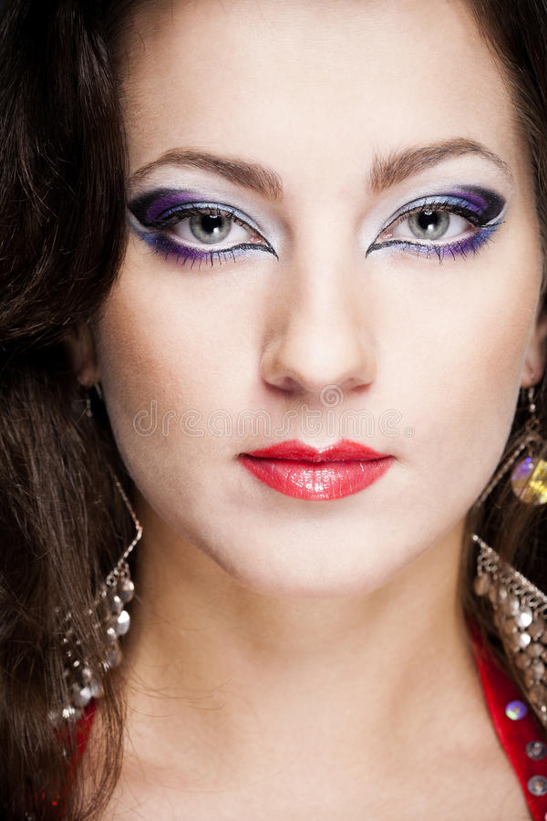 mody kobiety portret fotografia royalty free