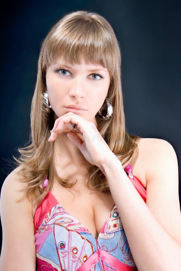 Mody kobiety portret z latynoski target136_0_ zdjęcia royalty free