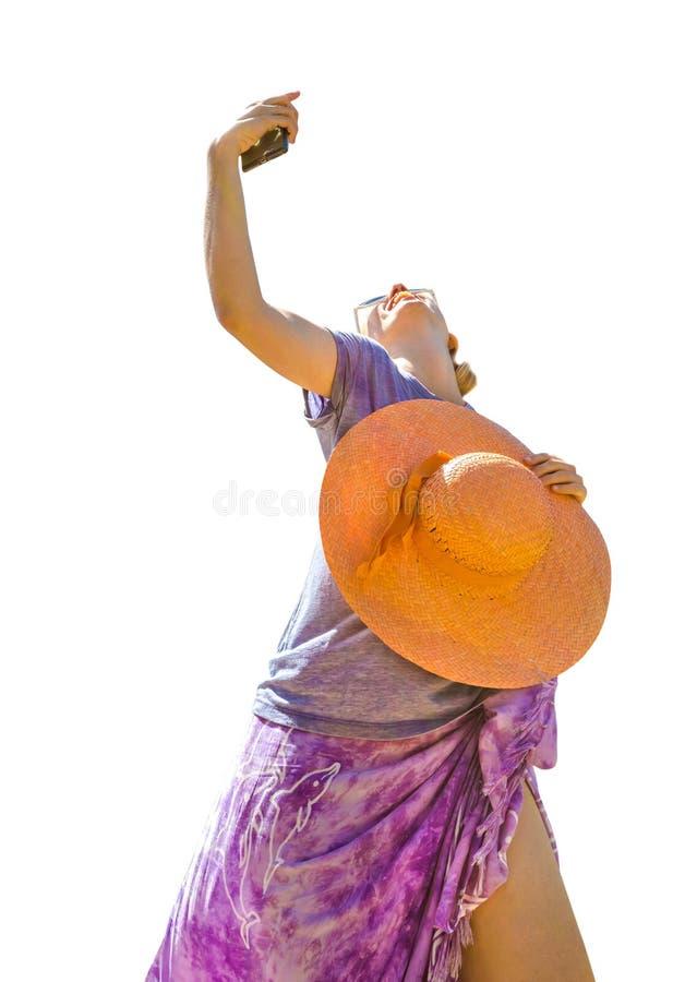 Mody kobiety sarongi fotografia royalty free