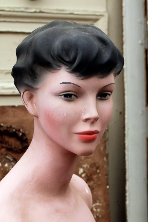 Mody mannequin portret Paryż Francja zdjęcia royalty free