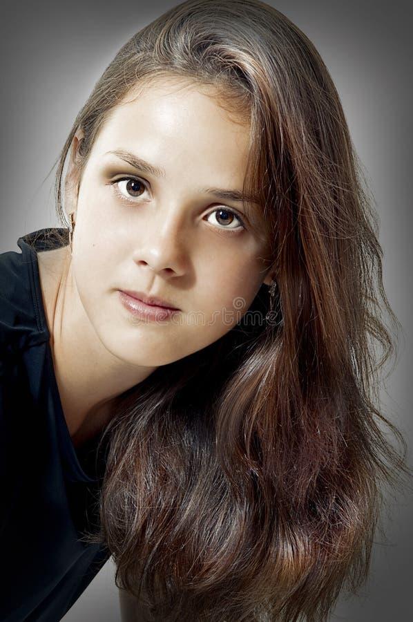 mody modela portreta potomstwa fotografia royalty free