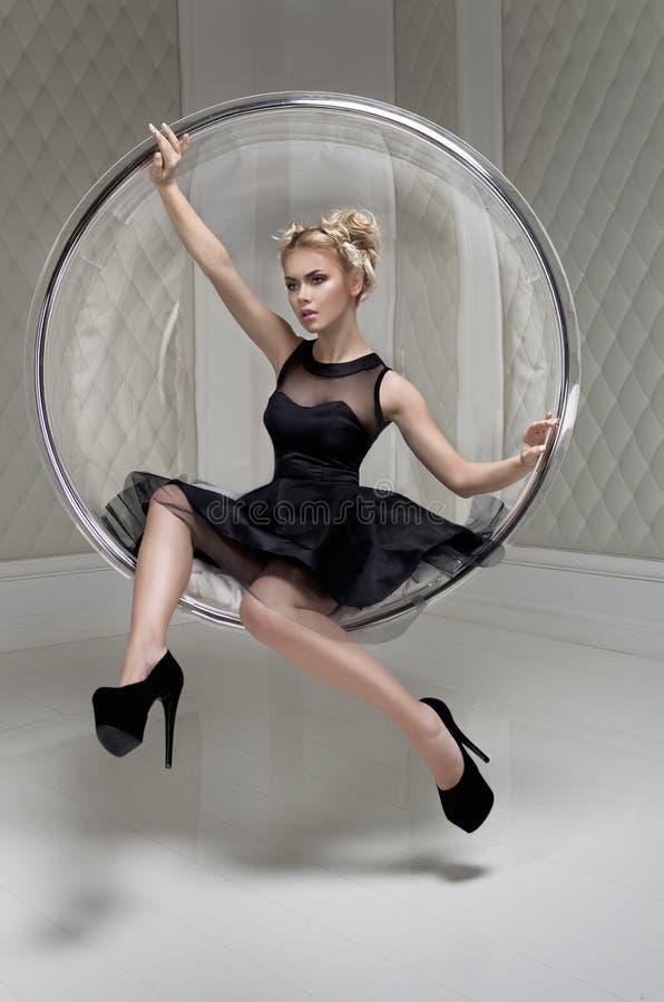 mody modela studio zdjęcie royalty free