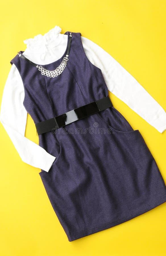 Mody suknia obraz royalty free
