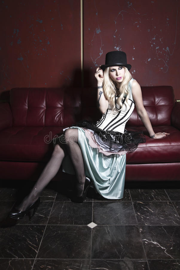 Mody wysoka moda obraz royalty free