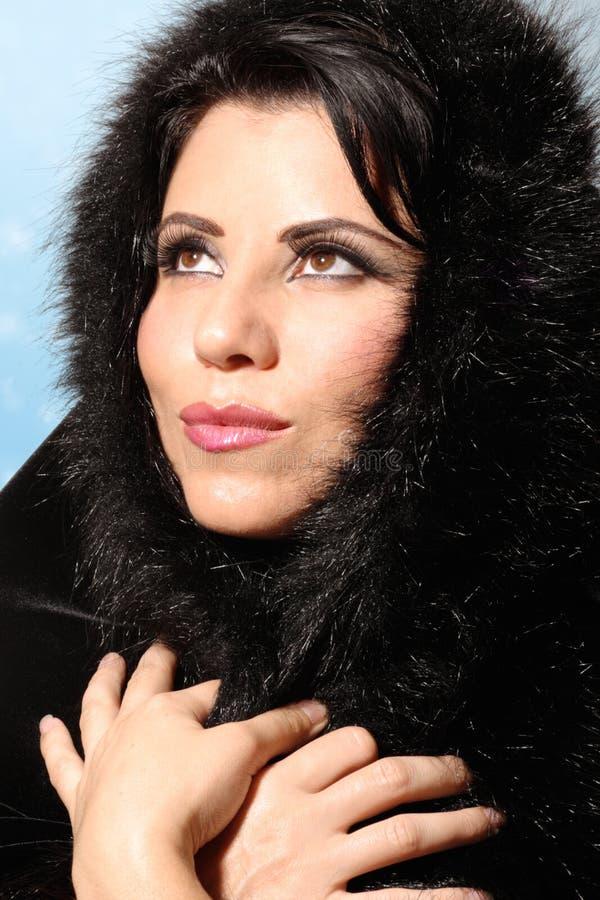 mody zima kobieta obraz royalty free