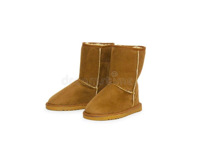 Mody zimy buty obrazy royalty free
