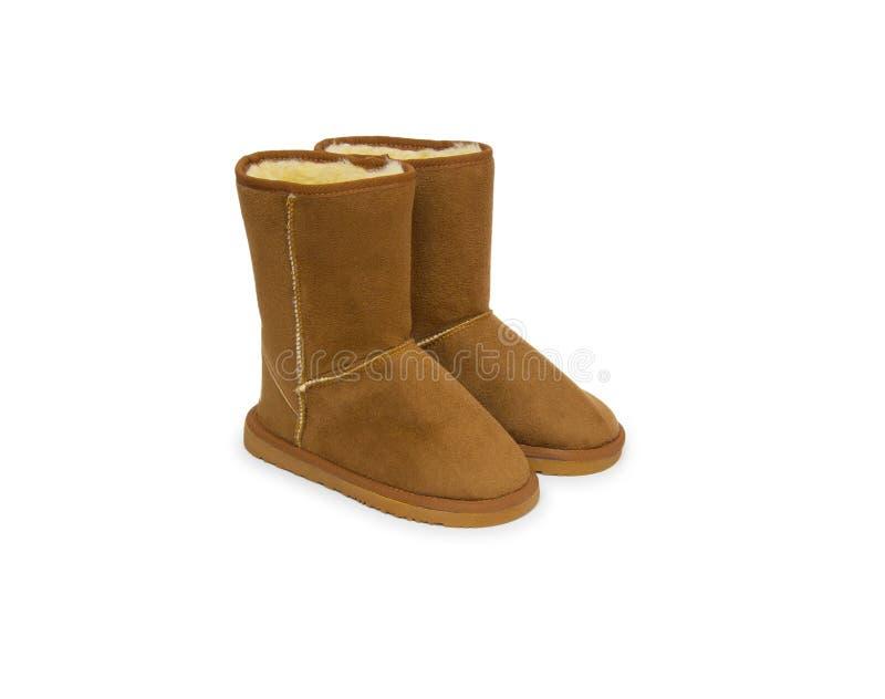 Mody zimy buty zdjęcia stock