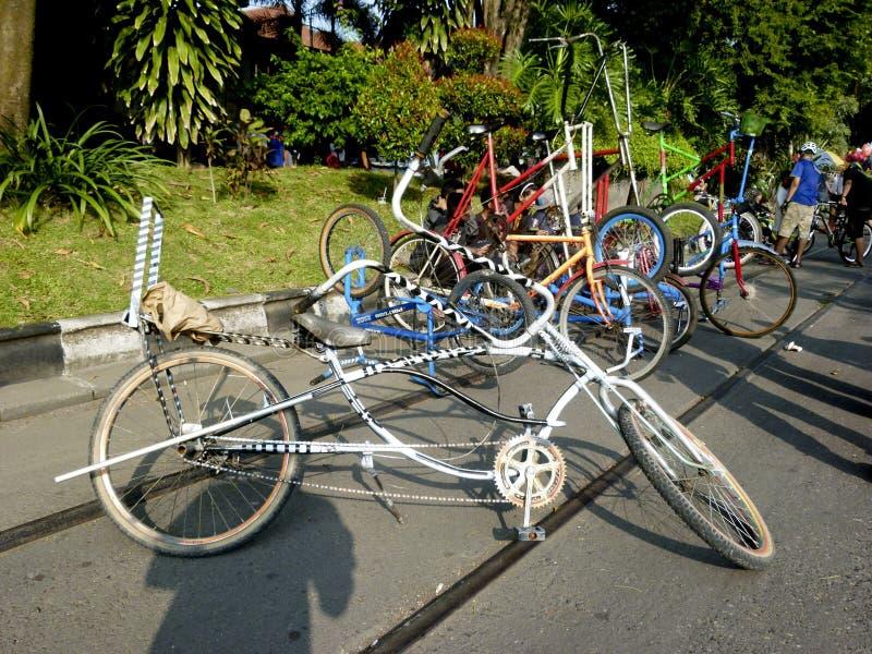 Modyfikacja bicykl zdjęcia stock
