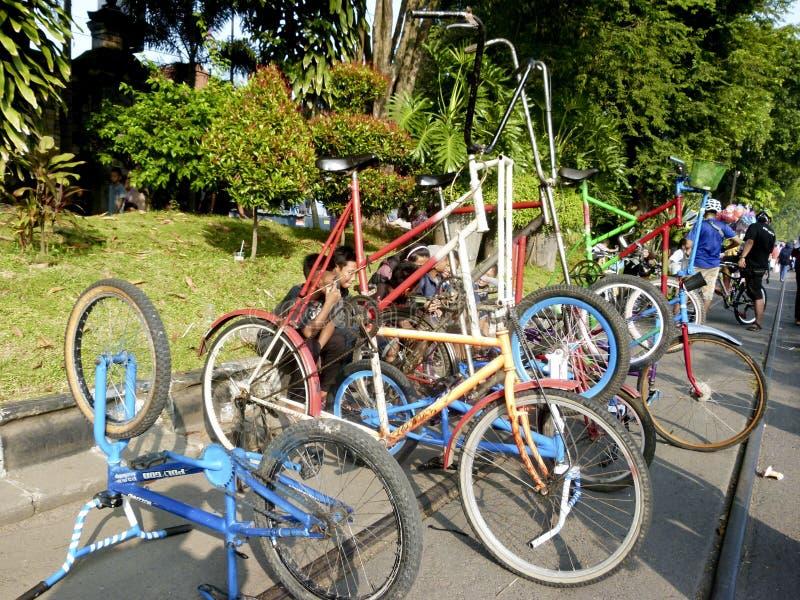 Modyfikacja bicykl zdjęcia royalty free