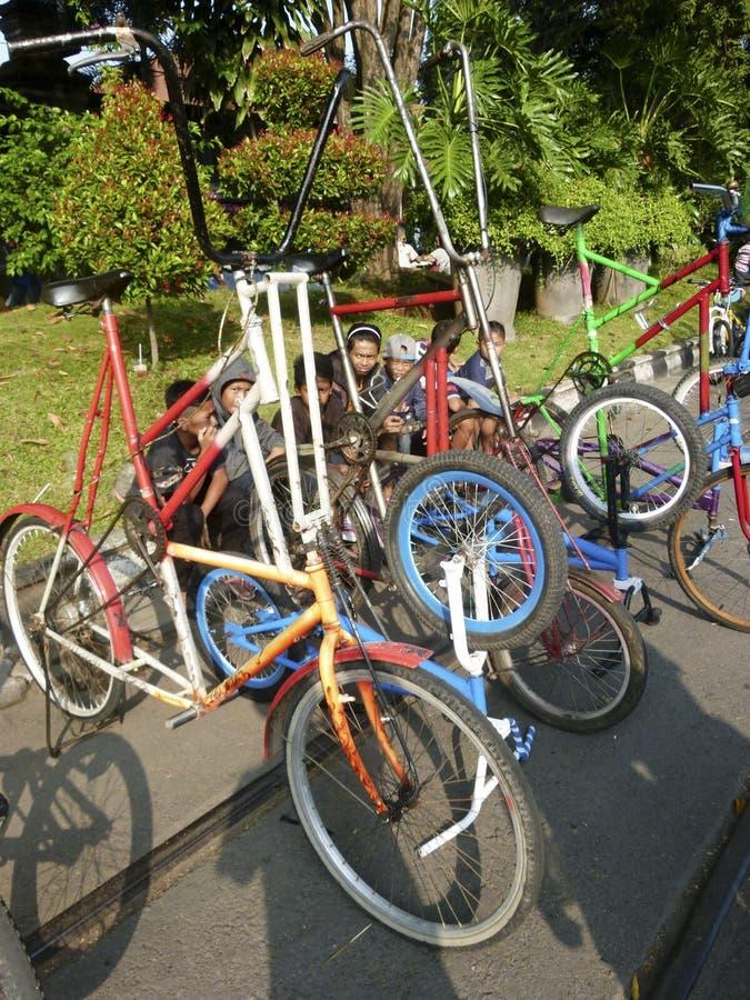 Modyfikacja bicykl obrazy royalty free
