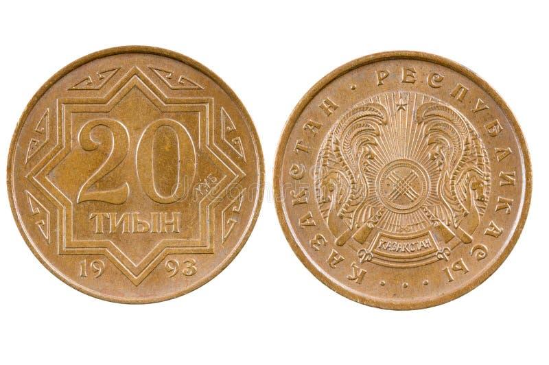 Moeda Cazaquistão fotos de stock royalty free