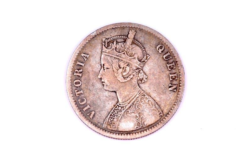 Moeda da rainha Victoria imagens de stock royalty free
