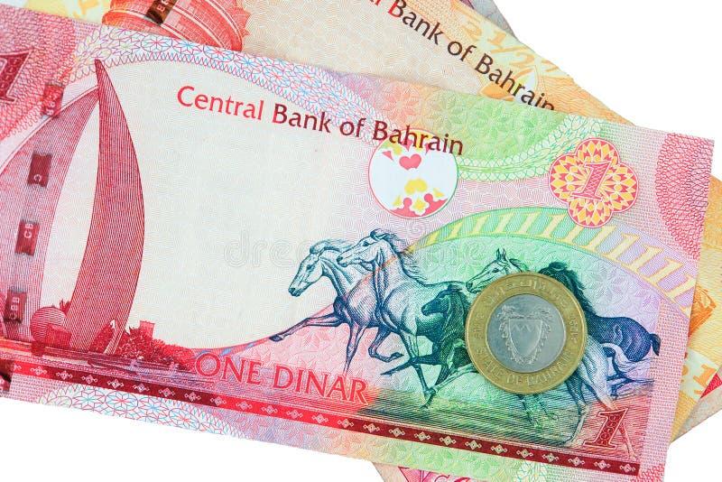 Moeda de Barém - isolada fotos de stock royalty free