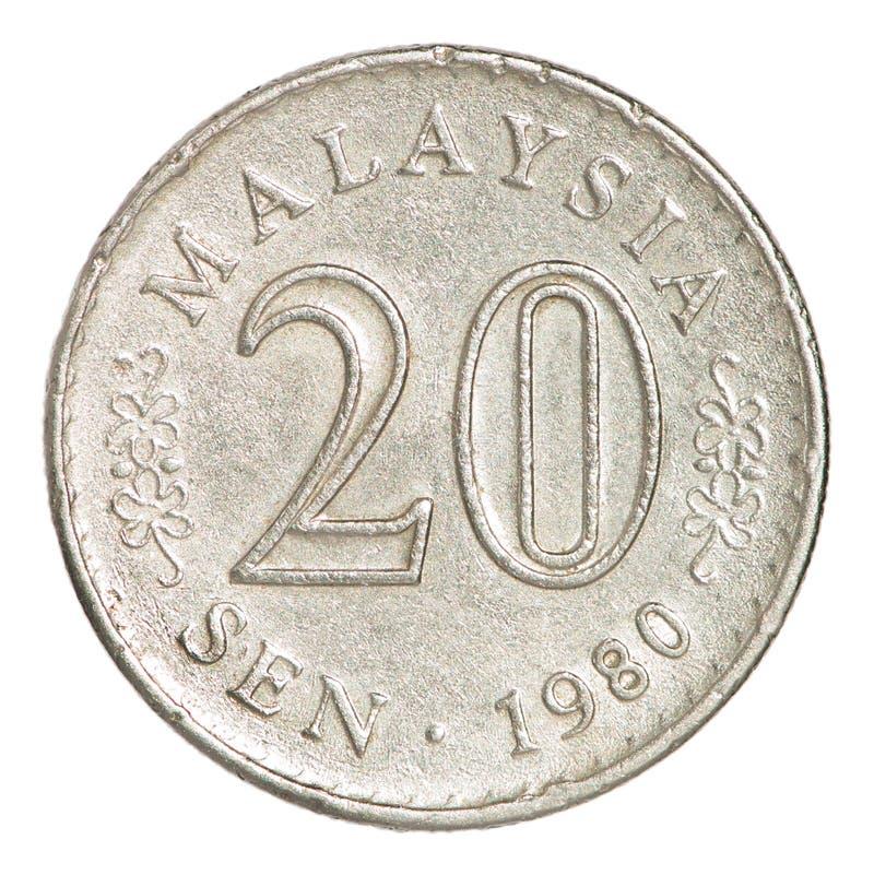 Moeda de Malásia fotos de stock royalty free
