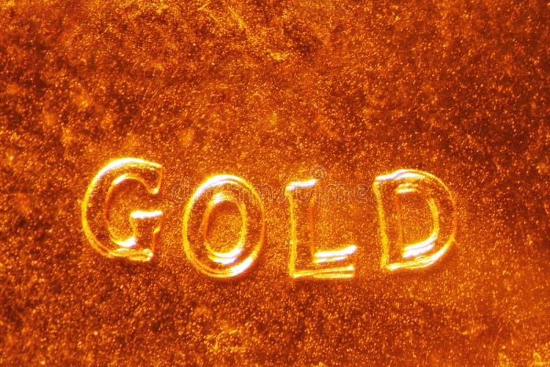 Moeda de ouro foto de stock