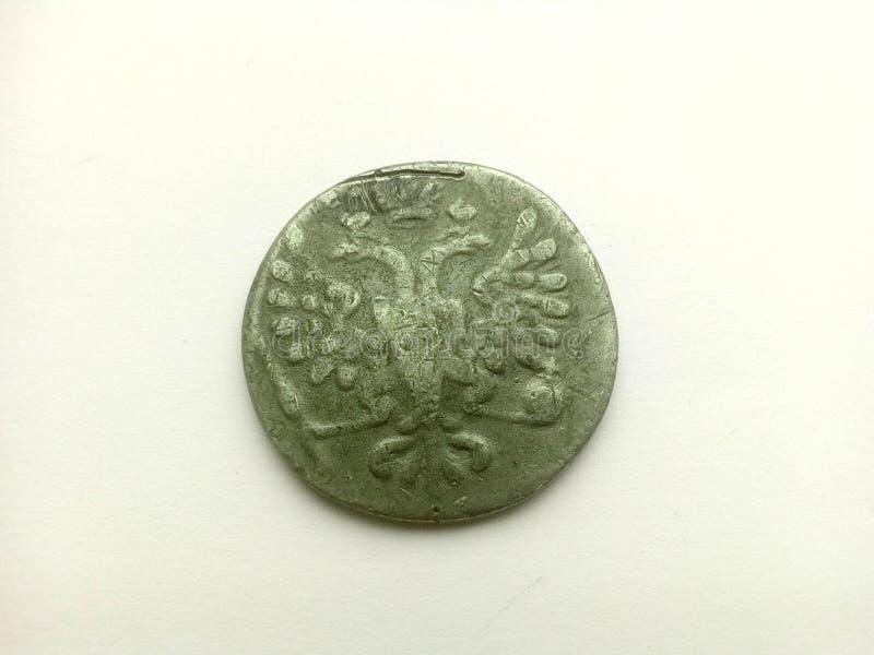 Moeda de prata velha imagens de stock royalty free