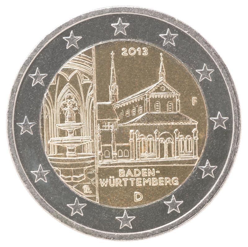 Moeda do euro 2 imagens de stock royalty free