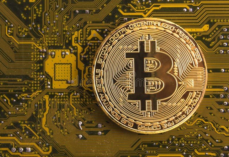 Moeda eletrônica, finança do Internet, cryptocurrency fotos de stock
