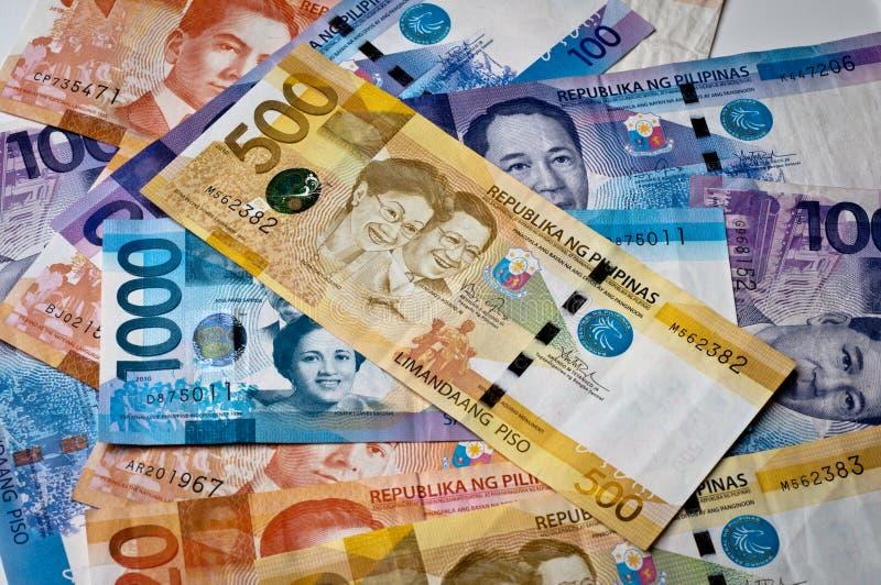 Moeda filipino fotografia de stock royalty free