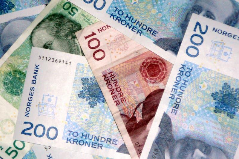 Moeda norueguesa fotografia de stock royalty free