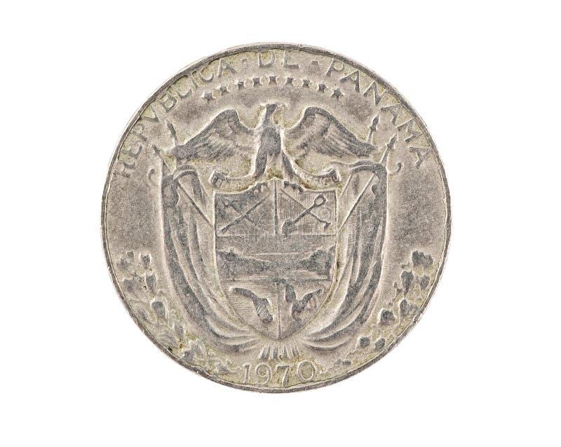 A moeda panamense isolou-se imagens de stock royalty free